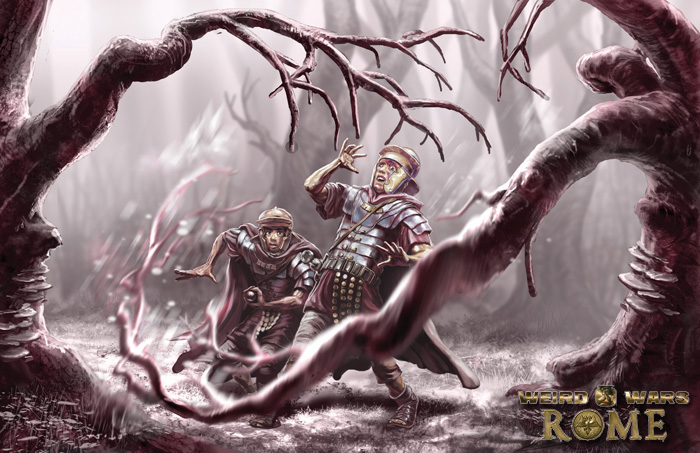 Weird Wars Rome: Forest by CBSorgeArtworks