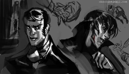 Jekyll n Hyde Sketches 2014