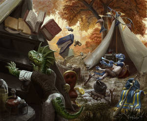 Wizard Lizard Camping