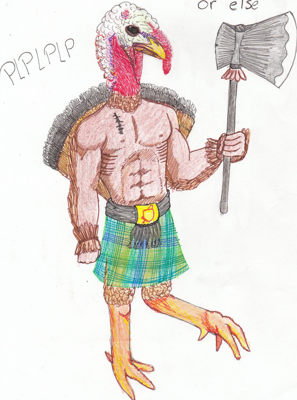 turkey warrior by moniekvh on DeviantArt