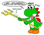 Yoshi and the Trident