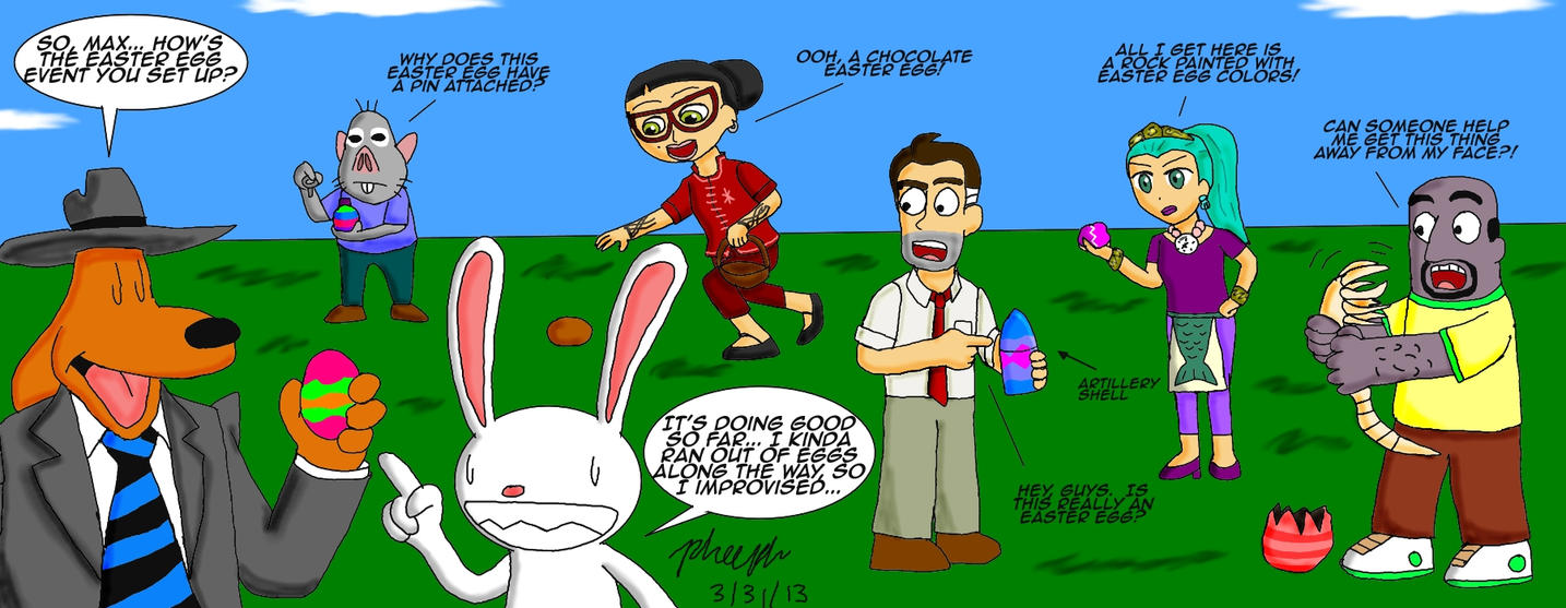 Easter Egg Hunt by pheeph