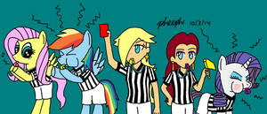 Crossover Referee Corps. by pheeph
