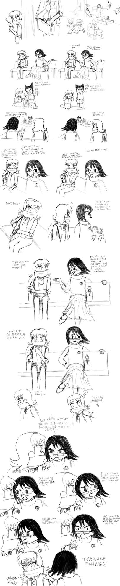 Parody Sketch by pheeph