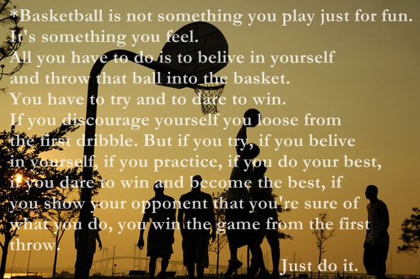 Nike Basketball Quotes And Sayings Nike Basketball Quote