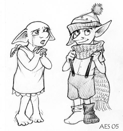 Dobby And Winky By Laerry On DeviantArt