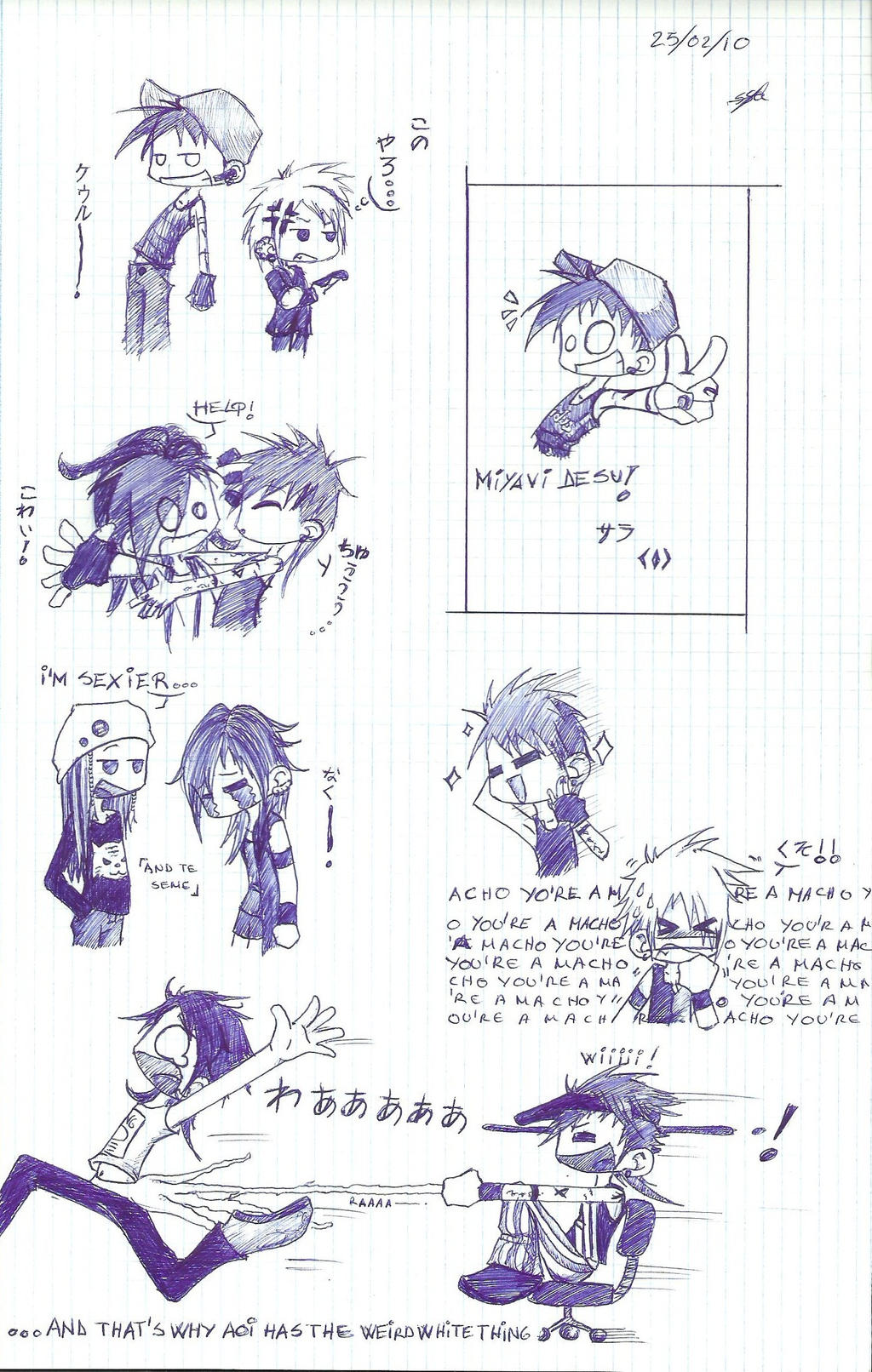 Miyavi traumatizing... by Dirl