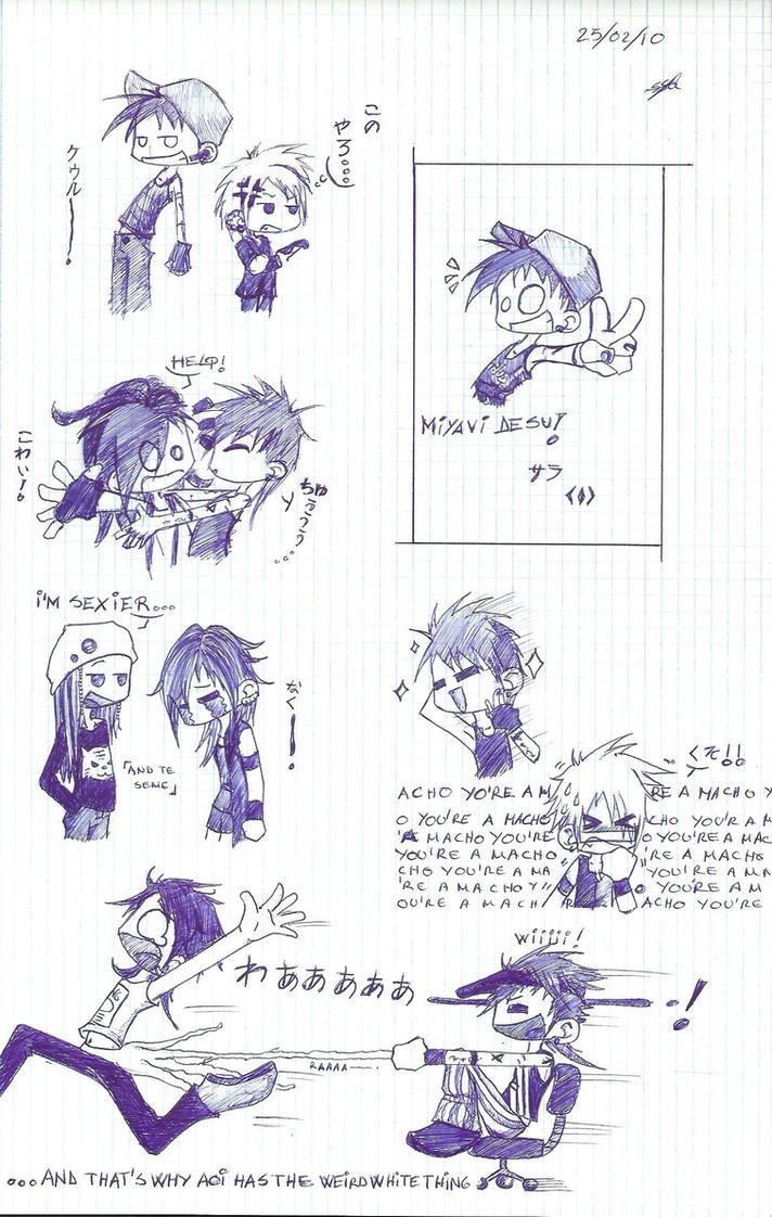 Miyavi traumatizing... by Dirl