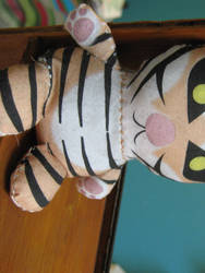 Sew By Numbers - Tiger Puff by toenolla