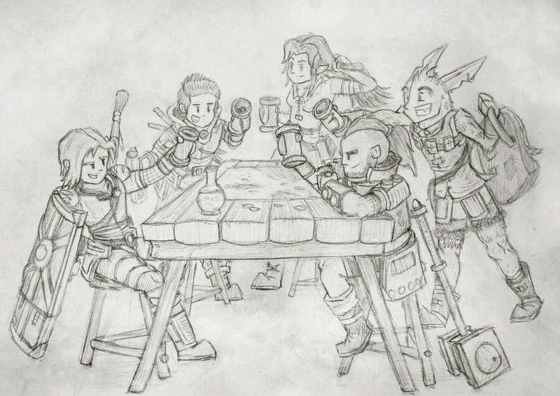 DnD - Drinks On Me by BombCrop