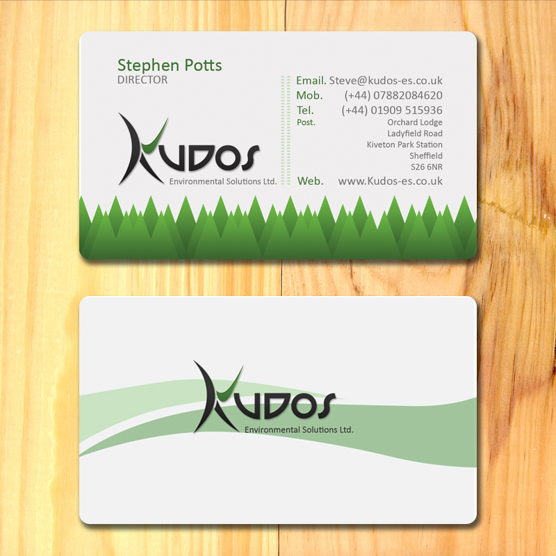 Kudos ES Business cards by SolidSilver on DeviantArt