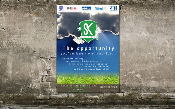 SIFE Keele Concept Poster