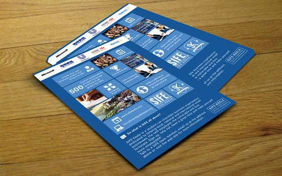 SIFE Keele Concept Flyer