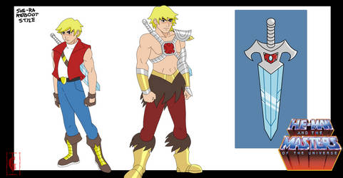 HE-MAN | SHE-RA  RESTYLE