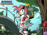 SONIC THE HEDGEHOG   ANOTHER AGE   AMY by GOICHIMONJI