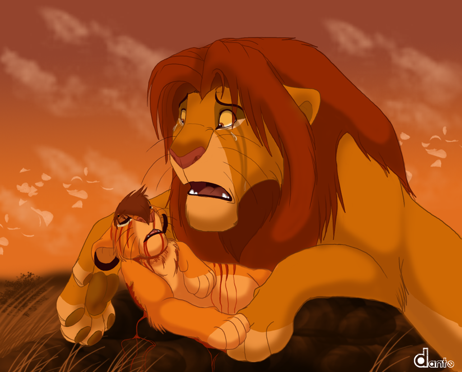 P.O The Lion King A_fathers_tears_by_dante211-d4209q9