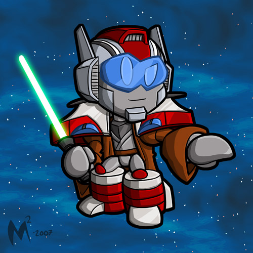 Commission - Jedi TF by MattMoylan