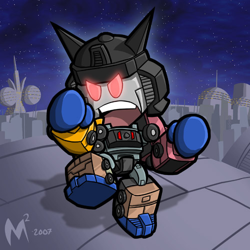 Commission - Menasor by MattMoylan