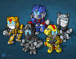 Commission - Movie Autobots