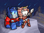 Commission - Elita-1, Optimus