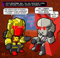 Lil Formers- All Hail Megatron by MattMoylan