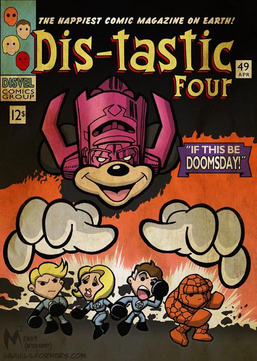 Lil Formers - Disney Marvel by MattMoylan