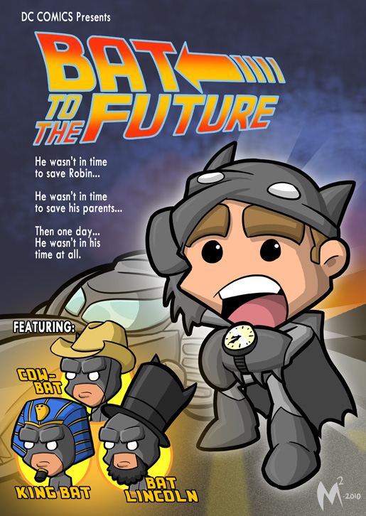 Lil Formers- Bat to the Future by MattMoylan