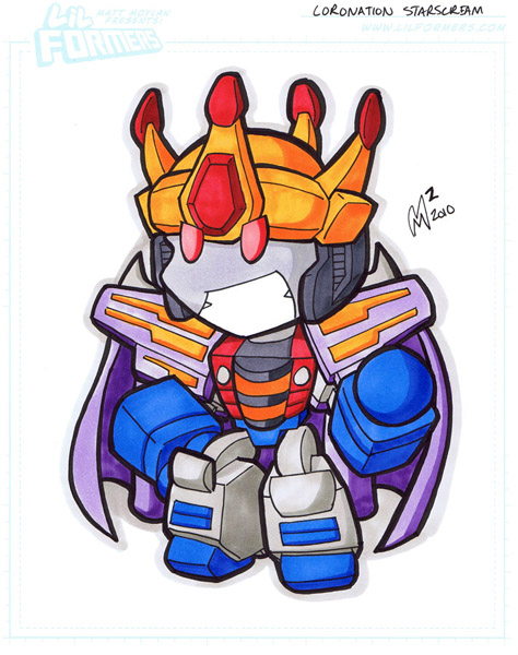Commission - King Starscream by MattMoylan