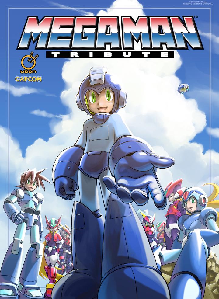 Mega Man Tribute Hardcover by MattMoylan