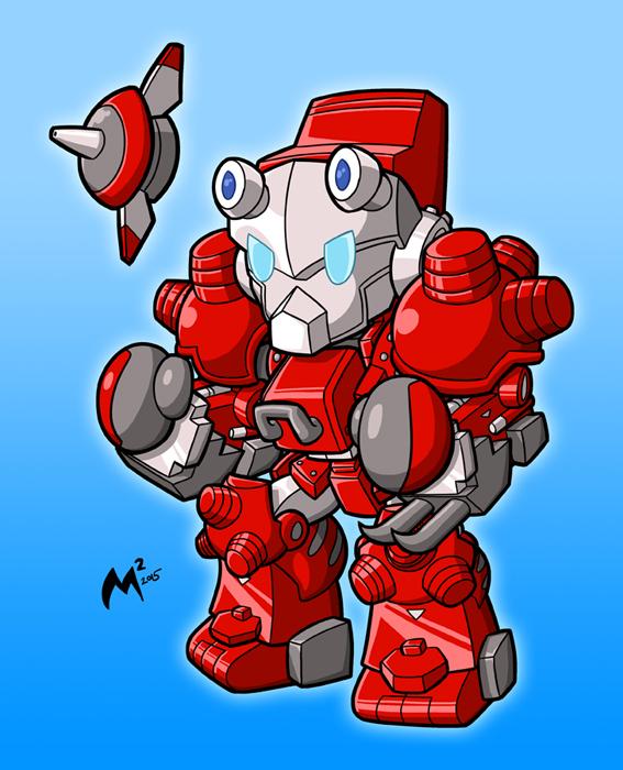 Cyberbots - Blodia by MattMoylan