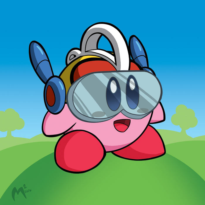 Bravoman Kirby by MattMoylan