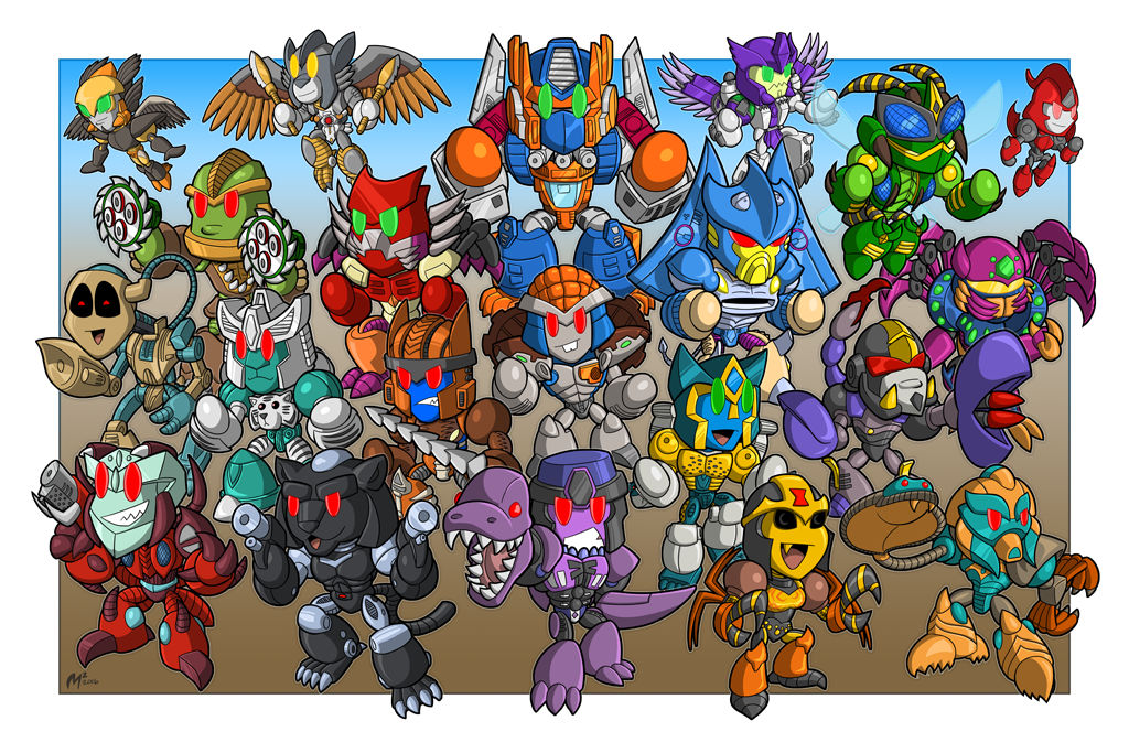 Beast Wars 20th Anniversary print