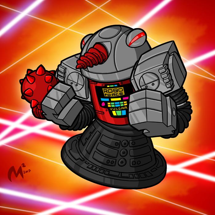Robo Force - Vulgar by MattMoylan