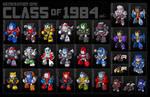 G1 Class of 1984 print