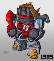 1985 Autobot Slag by MattMoylan