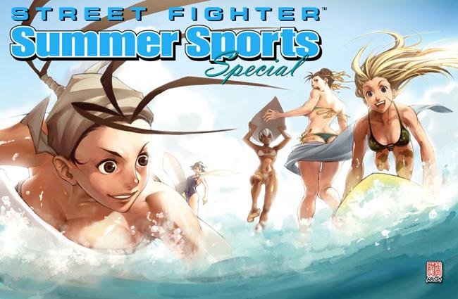 Street Fighter summer fan art competition by MattMoylan