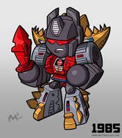 1985 Autobot Snarl by MattMoylan