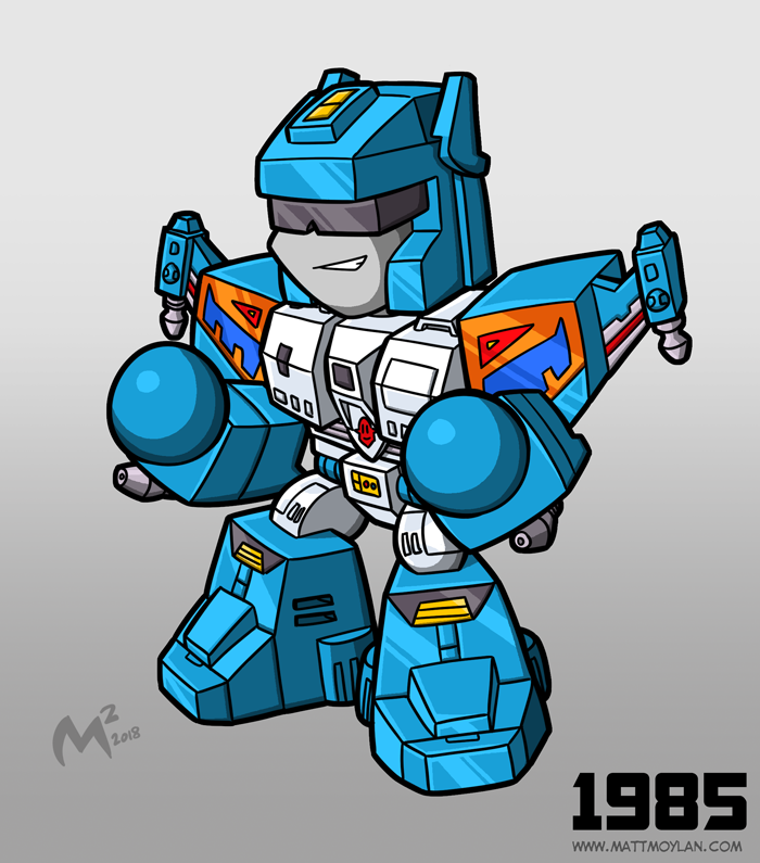 1985 Autobot Topspin by MattMoylan