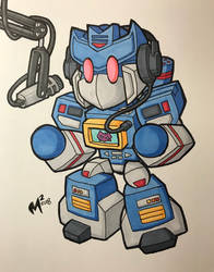 TFcon USA preorder commission - Soundwave! by MattMoylan