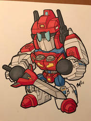 TFcon USA preorder commission - Star Saber! by MattMoylan