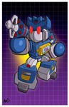 TFcon LA print - Soundwave!