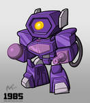 1985 Decepticon Shockwave