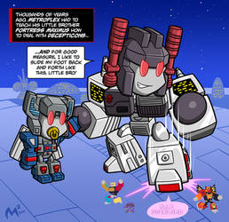Commission - Metroplex and Fort Max by MattMoylan