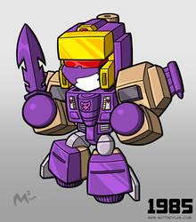 1985 Decepticon Blitzwing