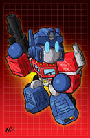 Lil Optimus Prime print