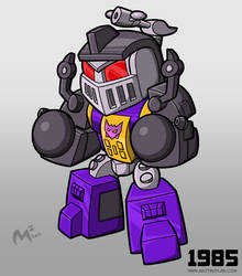 1985 Decepticon Bombshell