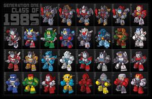 Transformers Class of 1985 - Print 2