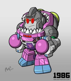 1986 Decepticon Gnaw