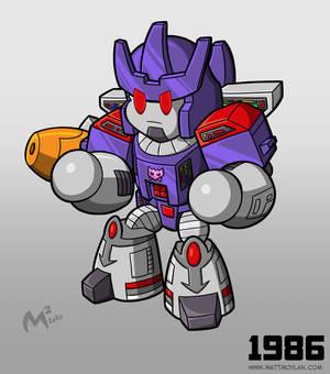 1986 Decepticon Galvatron