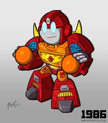 1986 Autobot Rodimus Prime
